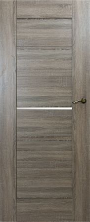 VASCO DOORS Interiérové dveře IBIZA kombinované, model 2, Dub sonoma, B