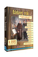 Lidový rok: Kalendářní zvyky českého lidu od středověku (4DVD)   - DVD
