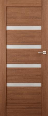 VASCO DOORS Interiérové dveře EVORA kombinované, model 4, Dub sonoma, C