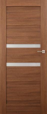 VASCO DOORS Interiérové dveře EVORA kombinované, model 3, Merbau, C