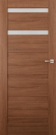 VASCO DOORS Interiérové dveře EVORA kombinované, model 2, Dub riviera, C