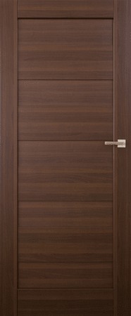 VASCO DOORS Interiérové dveře SANTIAGO plné, model 1, Merbau, D