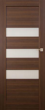 VASCO DOORS Interiérové dveře SANTIAGO kombinované , model 6, Merbau, A