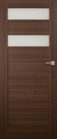 VASCO DOORS Interiérové dveře SANTIAGO kombinované, model 5, Dub sonoma, B