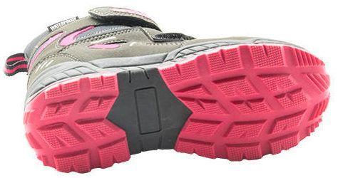 Bugga dívčí zimní boty 33 šedá/fialová