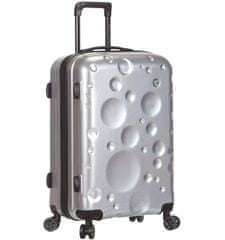 Sirocco Cestovní kufr T-1194/3-L PC - stříbrná