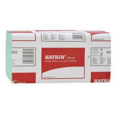 Ručník ZZ Katrin Classic 2-vrstvý 23 x 23 cm 150 ks zelený / 20 bal.