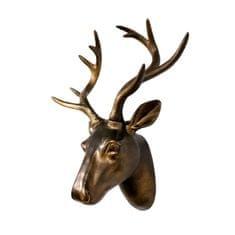 Walplus Nástěnná dekorace hlava jelena - vintage
