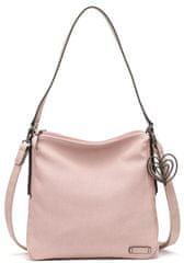 Tamaris růžová kabelka Adina