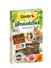 Gimborn Pamlsek Gimbi Snackit s lískovým dřevem 45g