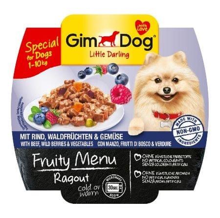 Gimborn Paštika Gimdog Fruity Ragout hovězí+lesní plody+zelenina 100g