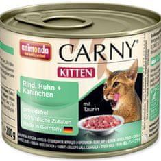 Animonda Carny Adult hovězí+krocan+králík 200g