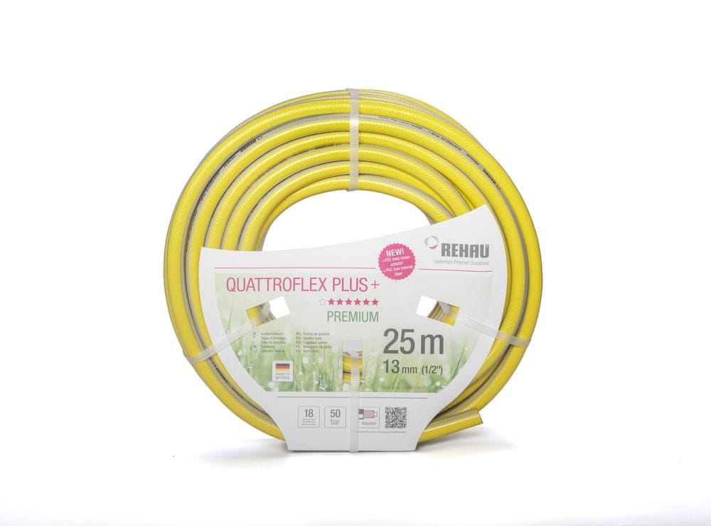 "REHAU Zahradní hadice QUATTROFLEX PLUS + (1/2"", 25 m)"