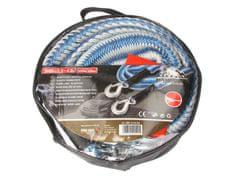 MAMMOOTH Ťažné lano, elastické, 4 m, 2 000 kg, s 2 karabínami