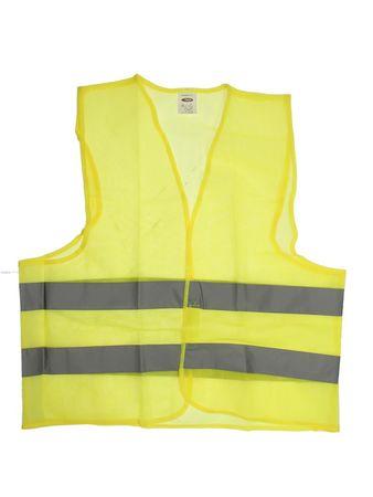 MAMMOOTH Výstražná reflexná vesta, žltá, veľ. XL