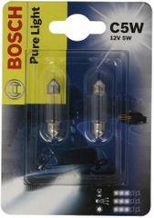 Bosch Žirovka typ C5W, 12V, 5W, Pure Light