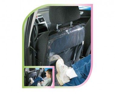 KEGEL Ochranná fólia zadnej strany predného sedadla vodiča PIGI, 69x44 cm, farba čierna