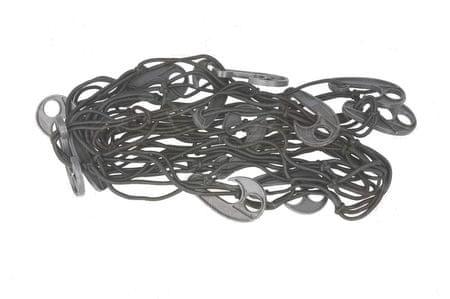 EWNAR Praktická sieť do kufra s háčikmi, rozmer 90 x 70 cm