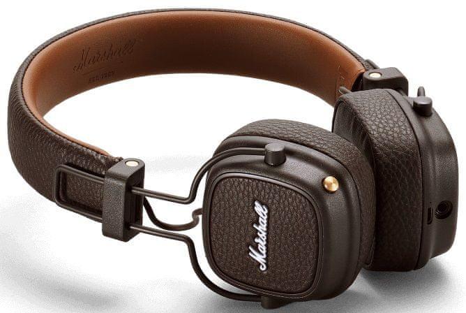 MARSHALL Major III Bluetooth, hnědá