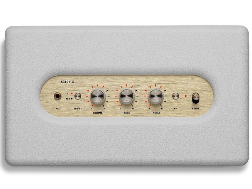 MARSHALL Acton II přenosný reproduktor, bílá