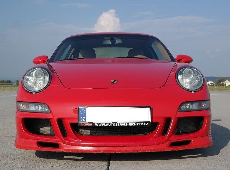 Poukaz Allegria - jízda na okruhu s Porsche 911 Carrera GT3 Loukov (okr. Mladá Boleslav)