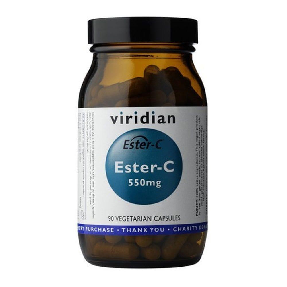 VIRIDIAN nutrition Ester C 550mg 90 kapslí