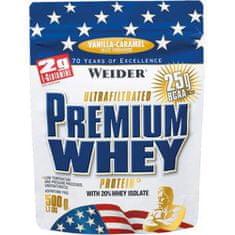 Weider Premium Whey Protein 500g - čokoláda-nugát