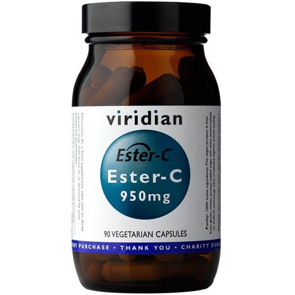 Viridian Ester-C 950mg 90 kapslí
