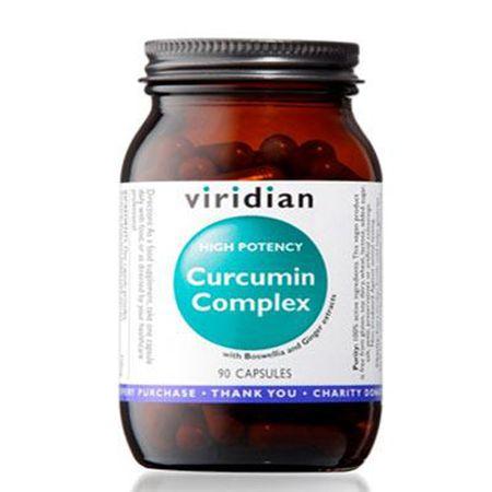 VIRIDIAN nutrition Curcumin Complex 90 kapslí