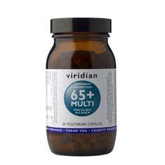 VIRIDIAN nutrition 65+ Multi 60 kapslí