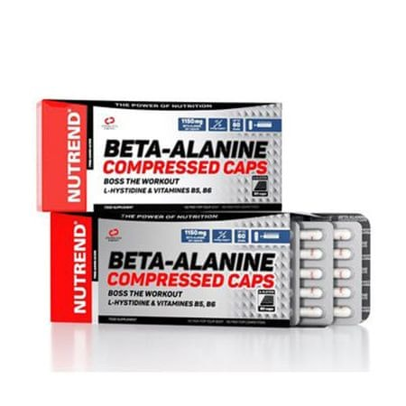Nutrend Beta-Alanine Compressed Caps 90kapslí