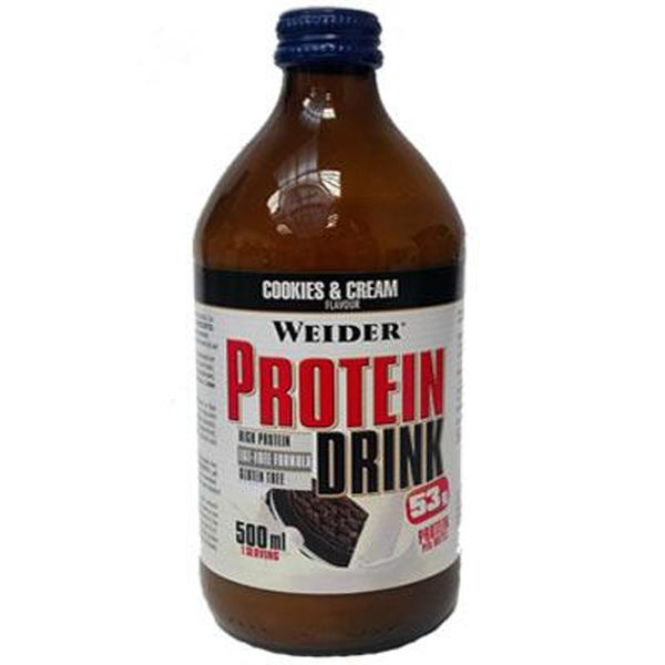 Weider Protein Drink 500ml. - cookies
