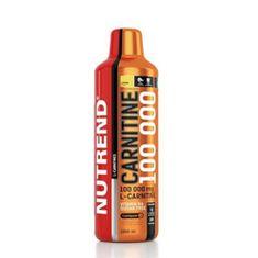 Nutrend CARNITINE 100000 1000 ml. - pomeranč