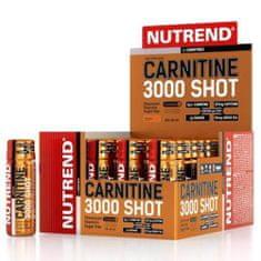 Nutrend Carnitine 3000 SHOT 20x 60 ml - pomeranč