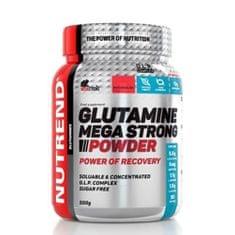 Nutrend Glutamine Mega Strong Powder 500g - punč-brusinka