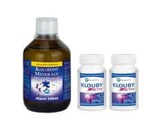Pharma Activ Koloidní minerály 300 ml + 2 x Klouby Activ 55 kapslí