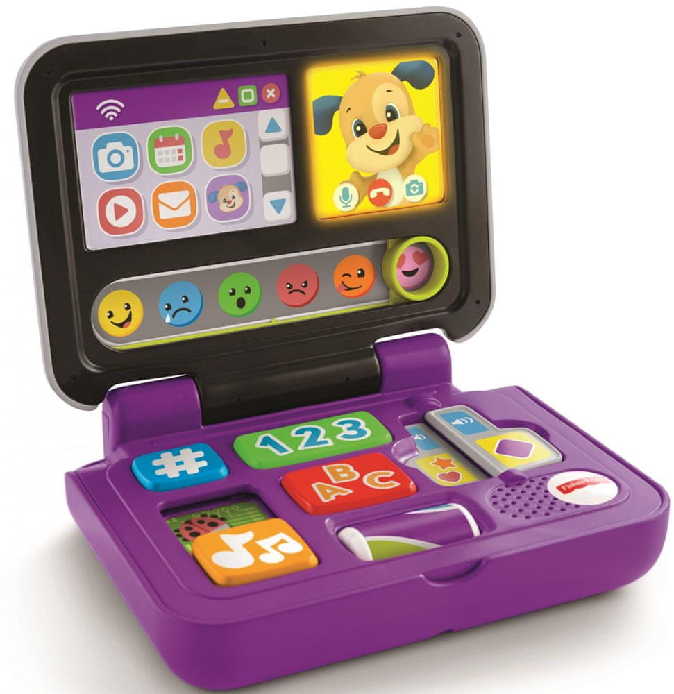 Mattel Fisher Price Naučný laptop CZ