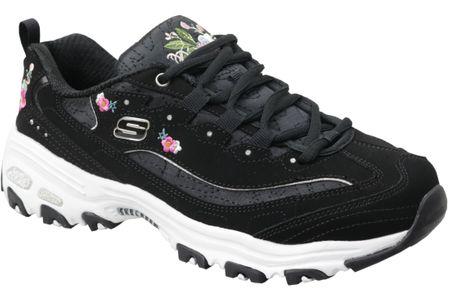 Skechers D'Lites Bright Blossoms 11977-BLK 36 Czarne