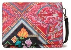 Desigual ženska torbica za nošenje čez ramena Bols Folklore Cards, rdeča