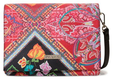 Desigual piros vállpántos női táska Bols Folklore Cards