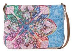 Desigual vícebarevná crossbody kabelka Bols Mexican Cards Mo