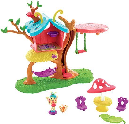 Mattel Enchantimals palčica in hiša metuljev