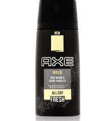 Axe dezodorant Gold, Wood&Dark Vanilla, 150 ml