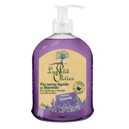 Le Petit Olivier Naturalny płyn mydło z oliwek olej lawendowy (czyste mydło w płynie 300 ml)