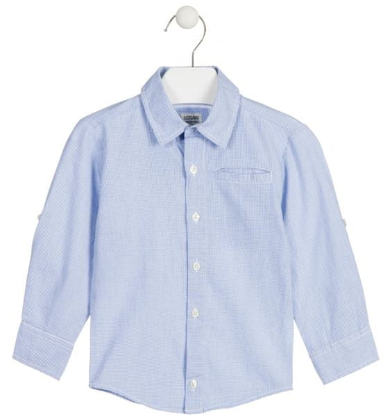 Losan chlapecká košile 104 modrá a61ebe1d21