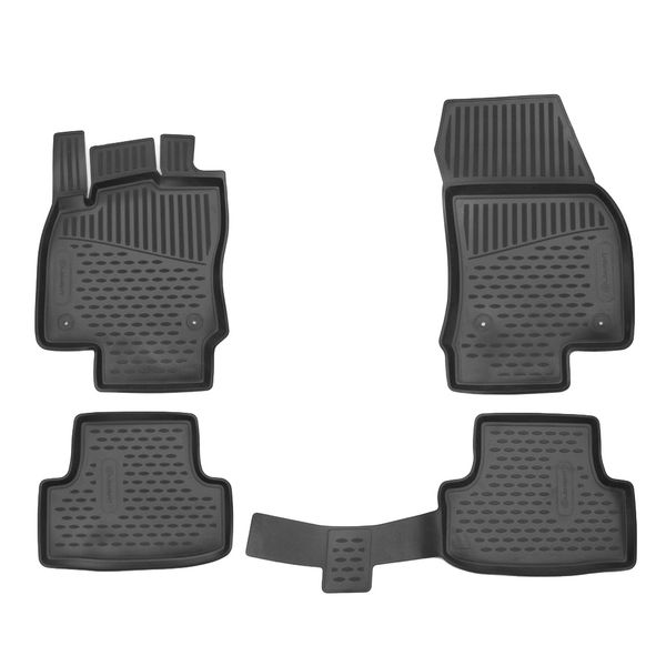 Novline Gumové autokoberce Seat Ateca 2016-