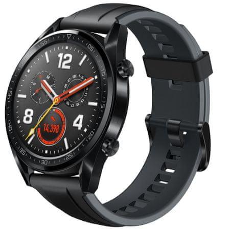 Huawei pametna ura GT Sport, črna