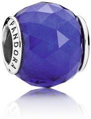 Pandora Broušený modrý korálek 791722NCB stříbro 925/1000