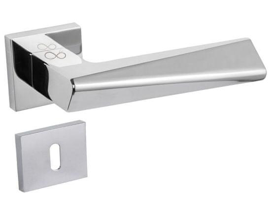 Infinity Line Delta 600 satyna mat nikiel - okucia do drzwi