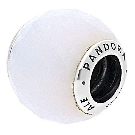 Pandora Bílý křišťálový korálek 791722NOW stříbro 925/1000